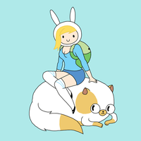 Sexy Fionna and Cake by Lilnanny