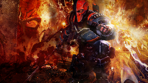 Deathstroke Wallpaper v2 by KaasyAsche