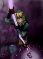 LOZ: Escaping the Underworld by Tora20