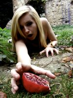 Persephone and the pomegranate by Sofifi-x