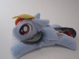 Rainbow Dash Beanie Plush by Brainbread
