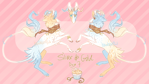 advalentine's calendar 07: silver + gold by hawberries