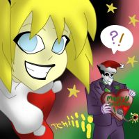 Merry Christmas withe harley's vendetta by Lunna-World