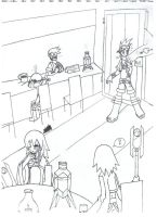 The Bar at Rhodea Point-inked by thecucuyo