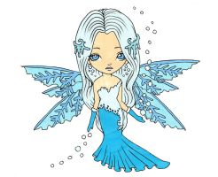 Snowflake Dollie Colored by Maiko-Girl