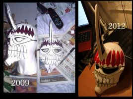 Bleach hiyori vizard mask by smallfry09