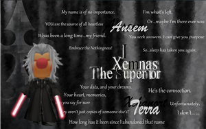 Xemnas mog wallpaper by Moogle007