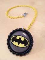 Batman Necklace - Jewelry for a Superhero by Monostache