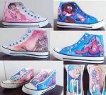 Steven Universe shoes by Tohmo