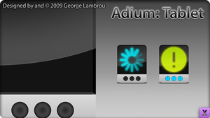 Adium: Tablet by GCL721