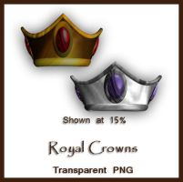 Royal Crowns by shd-stock