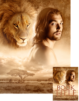 Book Cover Design - He's a Leo by Viergacht