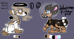 Galaxy adoptable batch (closed) by Intergalactic-Goat