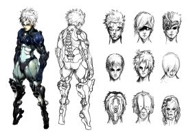 Assassin Sketches by ConceptualMachina