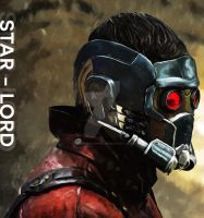 Star-Lord by DesignsByTopher