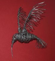 Wire Hummingbird by Bodin1980