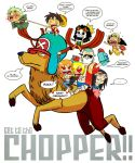 Get to the Chopper by ScoobyKun
