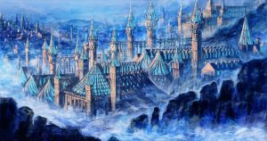 PFNW_Empire Magic Academy's morning mist by devilkero