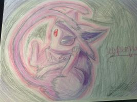 Espeon by shiny9tails