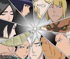 Captains - Bleach 488 by Natsuzora-chan