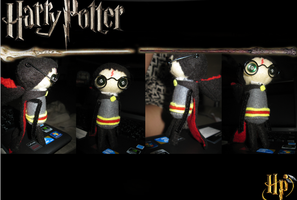 Harry Potter plushie by pearlandfrog13