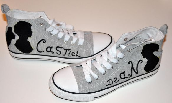 Destiel shoes by Ligechan