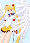 Angelic Eternal Sailor Moon by Air-Hammer