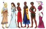 Humanized (Non)Disney Animals by CarmenFoolHeart