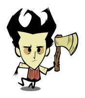 Don't starve - wilson - vector by kyuubi3000