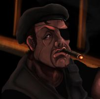 Stallone the expendables by KenZacal