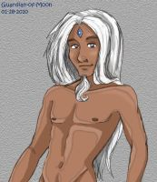 Yulric - Human Unicorn Male by guardian-of-moon