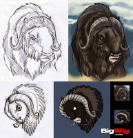 Social War - Musk Ox icon by Sandora