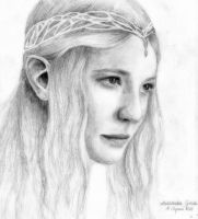 Galadriel (Lord of the Rings) by Ahriami