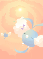 Happy Swablu Melody by Naaya-Neko
