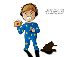 PewDiePie - Among the Sleep Fanart by superhorse1999