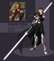 SWTOR: Jedi Shadow by Draegos