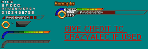 Finished Sonic Unleashed HUD by CrazyAlec