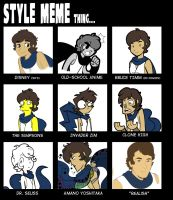 Style Meme Thing by FreakingArG