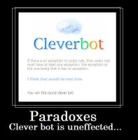 Cleverbot Paradox by Blissful-DeathTrap