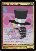 MLP-MTG: Spike, The Scheming by Shirlendra