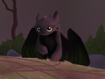 Realistic Toothless (For Jam722) by Mirka-Dragon