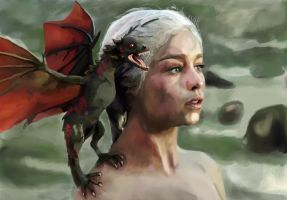 Mother of Dragons by cameron-david