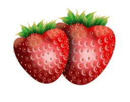 SVG Strawberries by billps