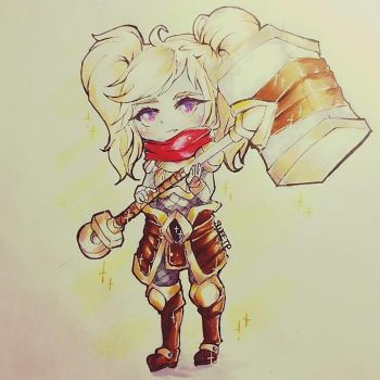Poppy [Keeper of the Hammer] by A-O-SweetP