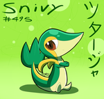 Snivy by Zipo-Chan