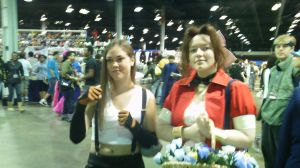 ACen-- Aeris and Tifa by CassyBean