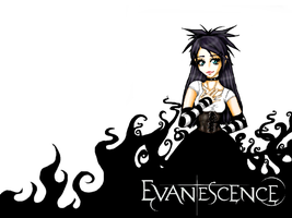 Evanescence Wallpaper by Ying-Yang