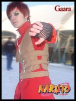 NRT - Gaara on ice 2 by TamerOfTheSand