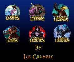 League of Legends Icons Pack 3 by IceCrumble