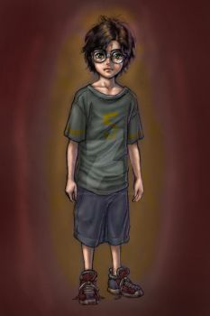 Harry Potter by SapphireGamgee